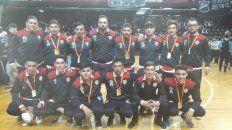 segunda victoria de atletico parana a en el argentino de clubes de futsal