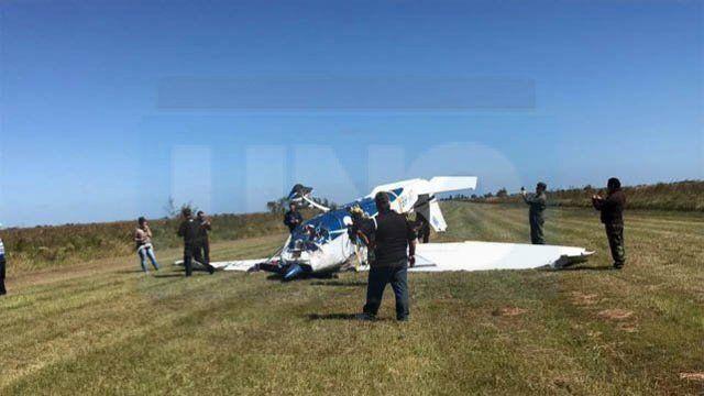 Trayecto. El rastro de las líneas de teléfono confirmó que el avión se dirigía hacia Paraguay