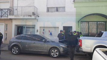 Conmoción. Hubo un intenso movimiento en la zona de calle San Martín entre Alem y Caseros