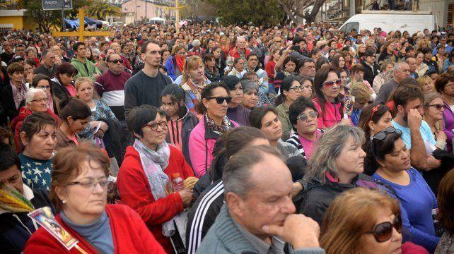 Dignidad. La Iglesia resaltó los problemas económicos que sufre la sociedad local y nacional.