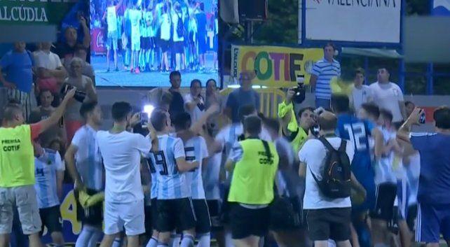 Argentina se quedó con el título en LAlcudia