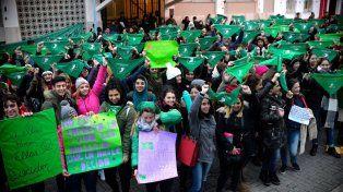 Paraná se sumó a la Vigilia Federal por el aborto legal