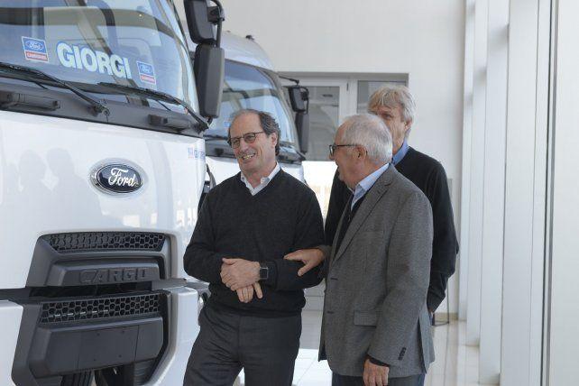 El nuevo presidente de Ford Grupo Sur visitó Giorgi Camiones