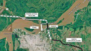Vecinos y ONG se unen para exigir información sobre el puente Paraná - Santa Fe