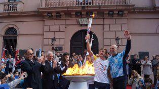 Lugar elegido. Frente al histórico Colegio del Uruguay