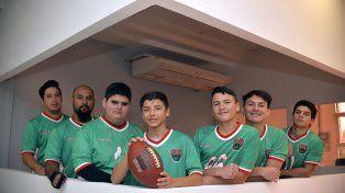 En guardia. Los chicos de Paraná comenzaron a practicar el deporte a principios de año. Empezaron a enfrentar a equipos de la vecina ciudad y ahora van por el sueño en medio del aprendizaje.