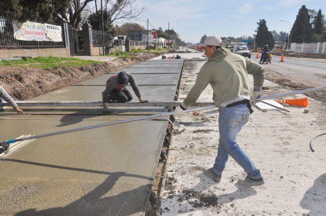 Ya se ejecutó el 60% de la doble vía que unirá Paraná y Oro Verde