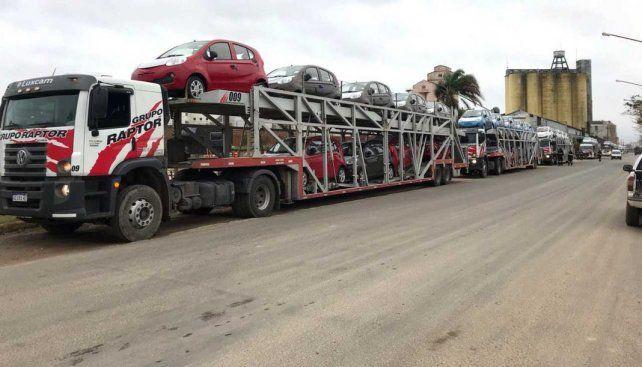 Suman autos de importación en  la Zona Franca  y en el Puerto