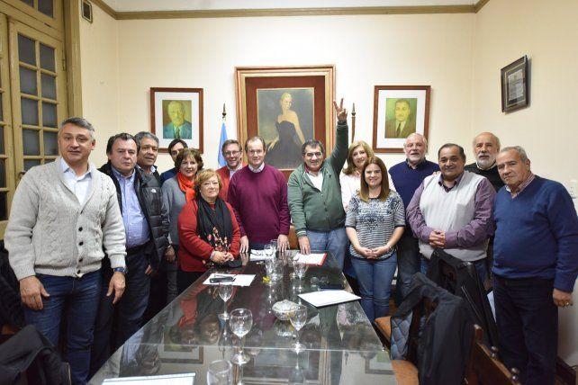 Dirigentes justicialistas avalan definiciones del Consejo Provincial