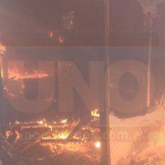 Incendiaron intencionalmente una casilla en las instalaciones del ex hipódromo