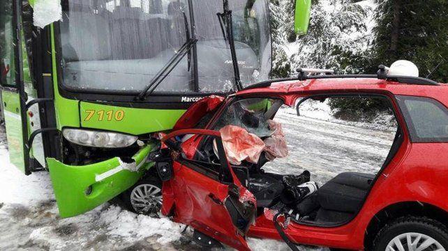 Amigo de Giallombardo mostró el video del accidente