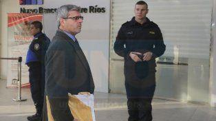 En sus manos. Rossi tiene otra vez que resolver sobre la situación de Wagner. Foto: Diego Arias.