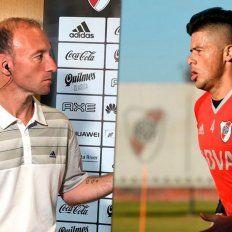 El insulto de un periodista que cubre River Plate a Moreira: Paraguayo de mierda