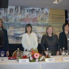 Encuentro de Juezas. La ministra llegó a Paraná a participar de un congreso de magistradas. Foto: Mateo Oviedo