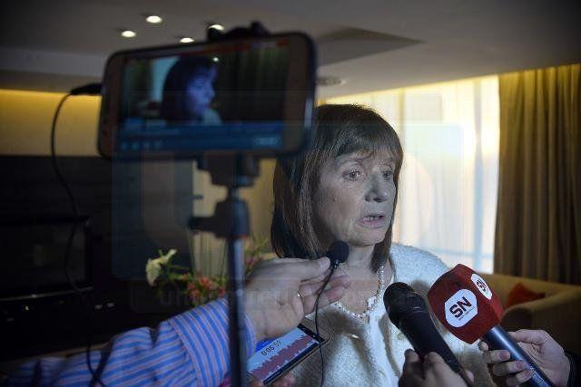 Foto UNO / Archivo - Patricia Bullrich en una visita a Paraná en 2017