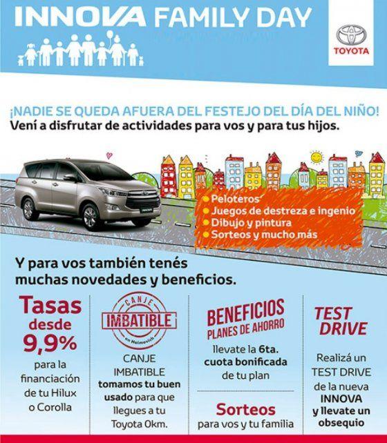 HAIMOVICH Toyota festeja el Día del Niño a través del Innova Family Day