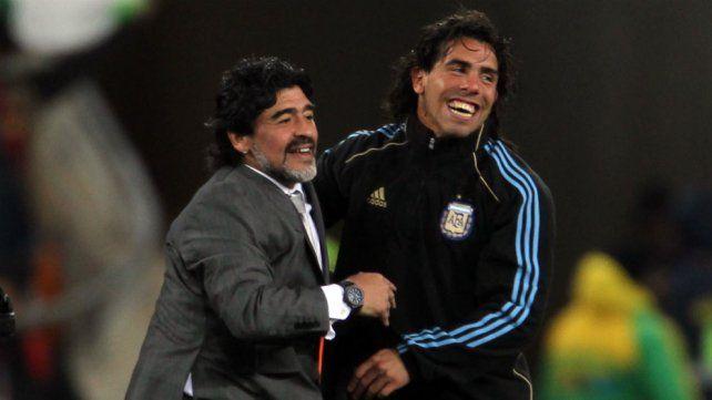 Maradona: Si Tevez es macrista, no es más el jugador del pueblo