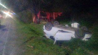Choque entre dos vehículos en avenida Almafuerte: dos personas fueron hospitalizadas