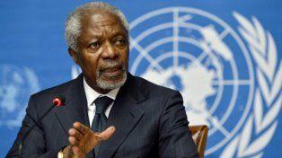 A los 80 años, murió Kofi Annan, el ex secretario general de la ONU y Nobel de la Paz