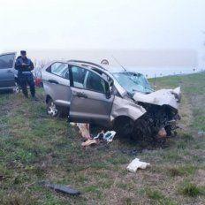 Accidente fatal: Brindaron parte médico de los seis heridos en el choque en el que falleció una mujer