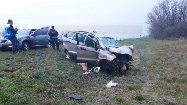 Ruta 12: Suman dos las víctimas fatales por la tragedia vial