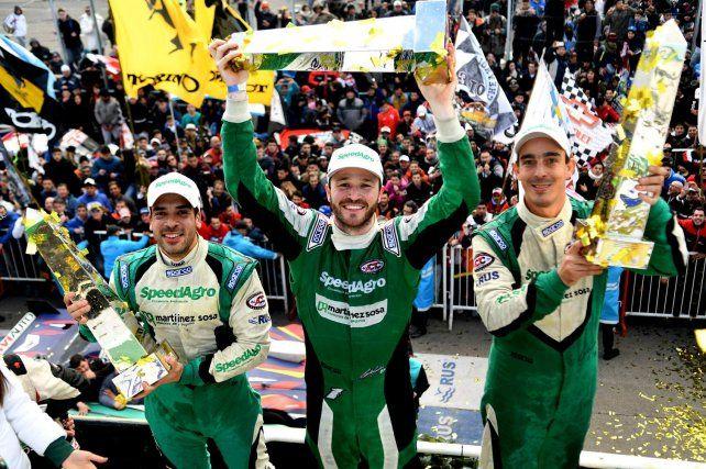 El concordiense Ponte, con Canapino ganaron la segunda edición