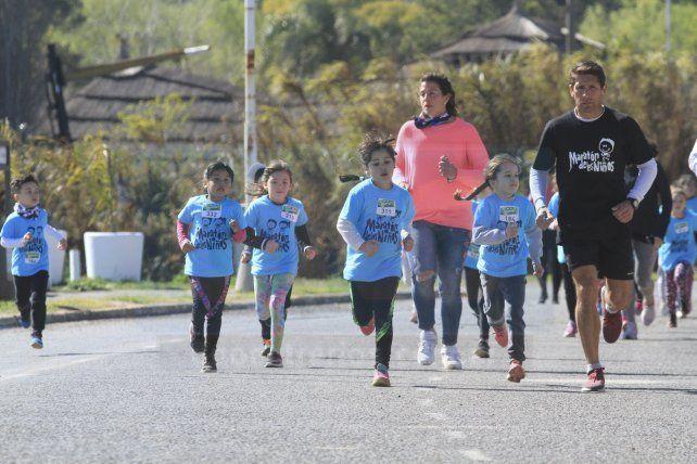 Se corrió el Maratón de los Niños en Paraná