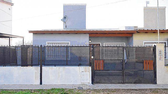 Víctima. El jueves en esta casa de Manuel Ugarte al 800 mataron a Joan Steven Grueso