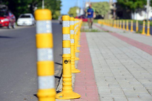 """La ciclovía de calle Maciá es una """"isla"""" urbana."""