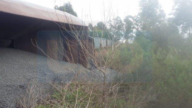 Descarriló parte de una formación del ferrocarril