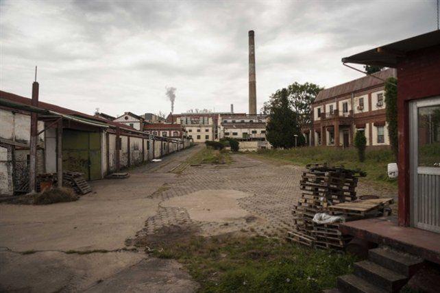 Frigorífico fundido. La planta cerró 20 años atrás y la ciudad sufrió un gran impacto.