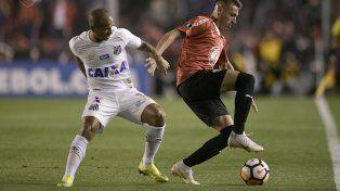 El Rojo empató de local con Santos por los octavos de la Libertadores