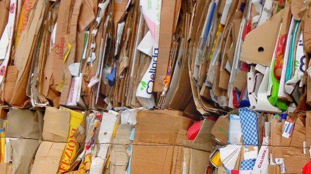 2Son los pesos que se paga en Paraná por el kilo de cartón