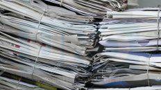 1,5Es lo que se llega a pagar por el kilo de papel revista, y por ejemplo, es aquel que forma parte de los diarios. En algunos lugares de Paraná, según la cantidad, se llega a pagar 2,1 pesos.