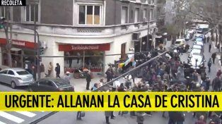 El Senado autorizó los allanamientos en las propiedades de Cristina