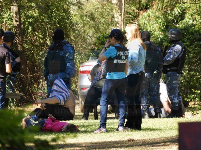 Seguirán presos los paranaenses detenidos junto a peligroso sicario