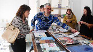 Reunión. Kosiak y la secretaria de Turismo y Cultura