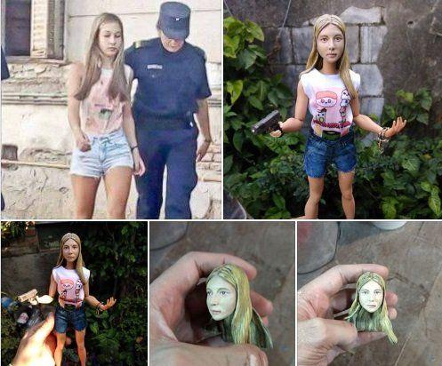 Un coleccionista encargó una muñeca de Nahir Galarza
