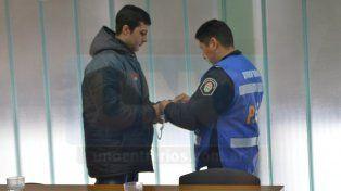Perpetua. El joven de 24 años pasará como mínimo 30 años en el penal. Foto: Juan Manuel Hernández