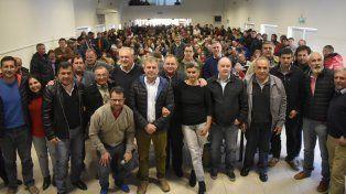 Unidad. Hubo varios sectores radicales en el encuentro de Villaguay, lo que preanuncia el consenso.