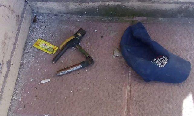 La foto que compartió la policía de Entre Ríos.