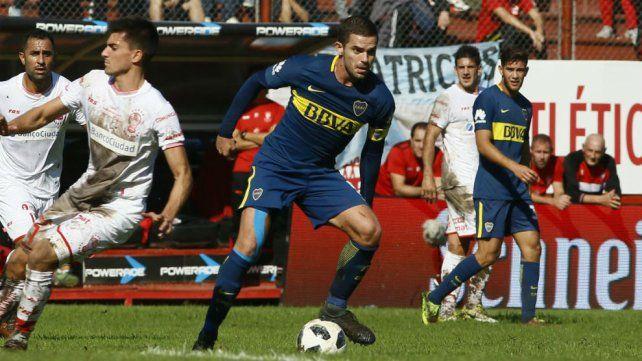 Fernando Gago vuelve como titular a la primera de Boca.