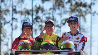 El crespense Emiliano Stang fue tercero en Brasil