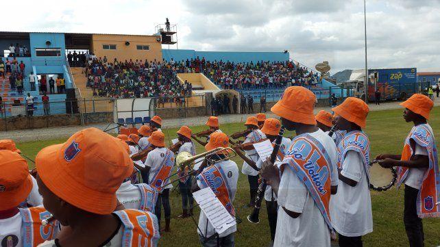 Campeonato. En el inicio del certamen angolano