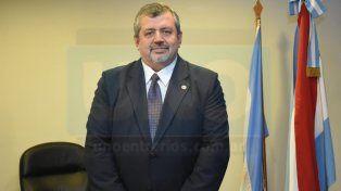 Recién asumido. Carballo se hizo cargo del juzgado en la ciudad de La Paz.