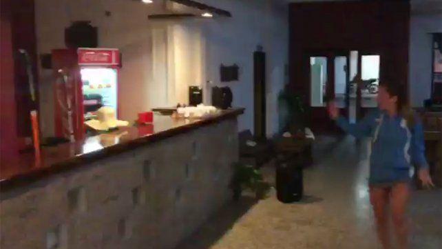 El buffet de la institución se convirtió en el centro de la escena