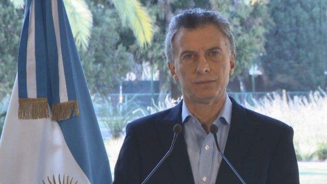Macri anunció que el FMI adelantará el desembolso