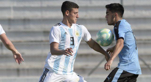 Con gol entrerriano, Argentina venció a Uruguay