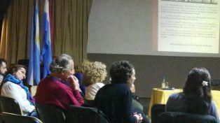 Nadia Burgos participó del encuentro.