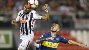 Boca festejó en Paraguay y jugará los cuartos ante Cruzeiro